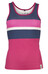 Chillaz Active Tanky Stripes - Débardeur Femme - rose/bleu